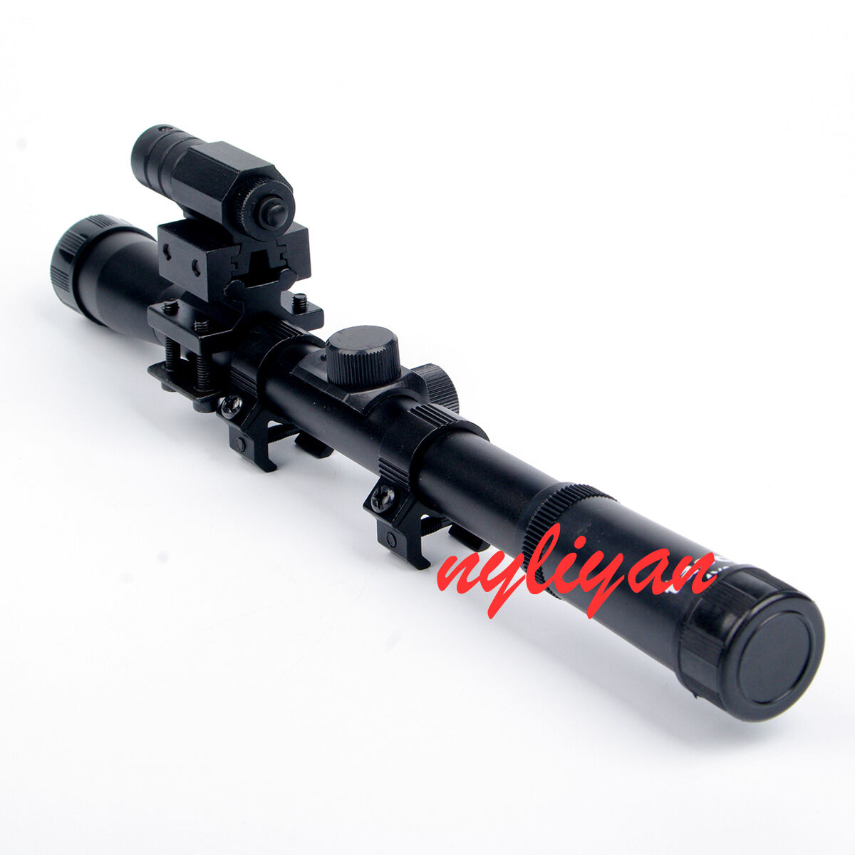 how to read a sniper scope