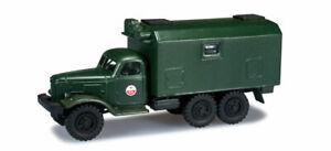HERPA-744386-minitanks-camion-ZIL-157-veicolo-militare-3-assi-scala-H0-1-87