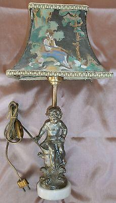 Lampe art nouveau régule signée