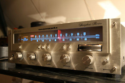 METER STEREO DIAL  AUDIO 8v COOL BLUE LEDs LAMP KIT VINTAGE RECEIVER 2216 2218
