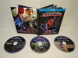The-Amazing-Spider-Man-Evolution-Collection-Blu-Ray-PAL-Zone-2-Tres-bon-etat