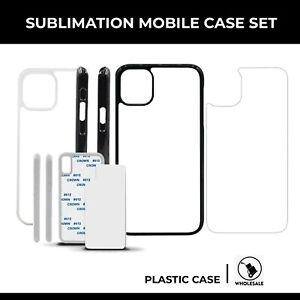 Blank Hitze Sublimation Hard Kunststoff Handy Fall für iPhone 11 Pro Max 10pcs