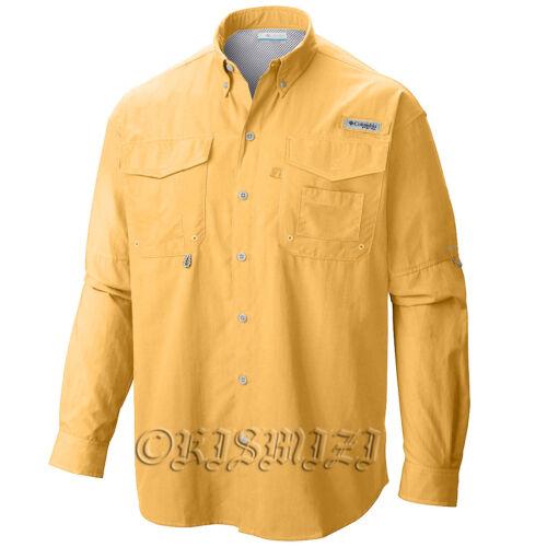 "New Mens Columbia PFG /""Bahama II/"" Omni-Shade Vented  Fishing Shirt"
