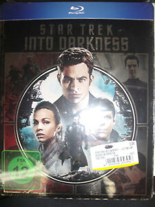 Star-Trek-Into-Darkness-Blu-ray-Metalpack-Steelbook-German-Region-B-NEW-Sealed