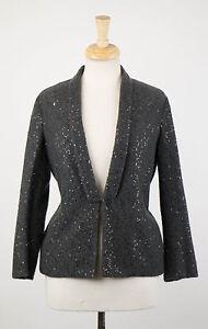 3330 Sweater S Nelly Brunello Cashmere Størrelse Cucinelli Strikket Grey Blend Cardigan wxp4vYqAx