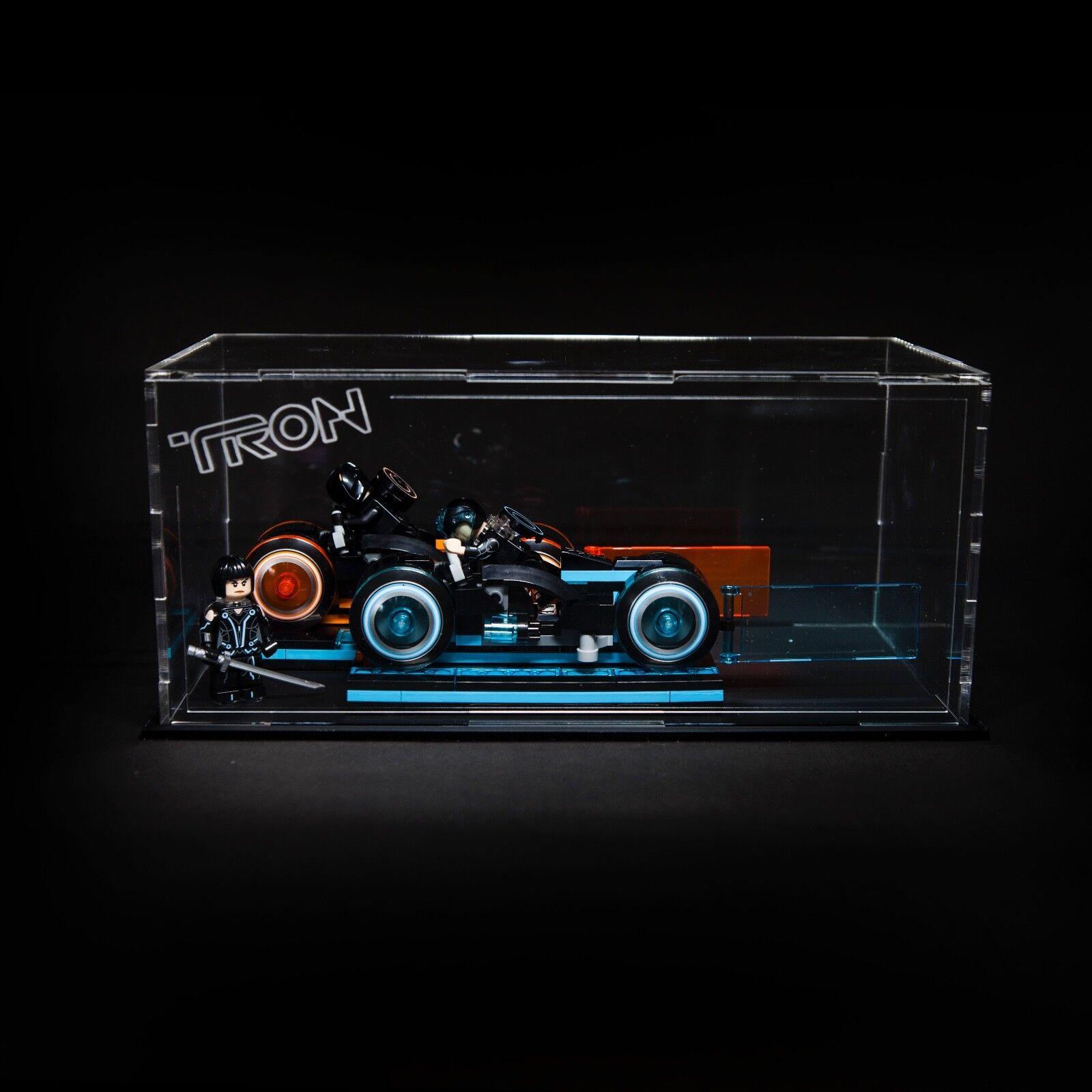Tron Legacy acrylic display case for Lego set (21314)