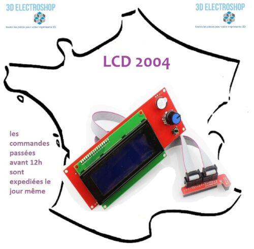 ecran LCD 2004 lecteur SD pour ramps 1.4 imprimante 3d print