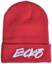 b75c02c171f5a Ecko Unltd. Mens Core Beanie Hat Red One Size for sale online