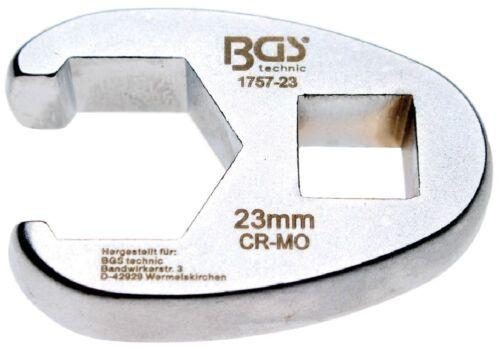 1//2 12,5 BGS 1757-23 23 mm hahnenfuss-Clé