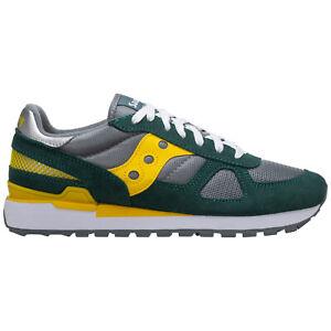 Saucony sneakers men shadow original 2108749 logo detail suede shoes trainers