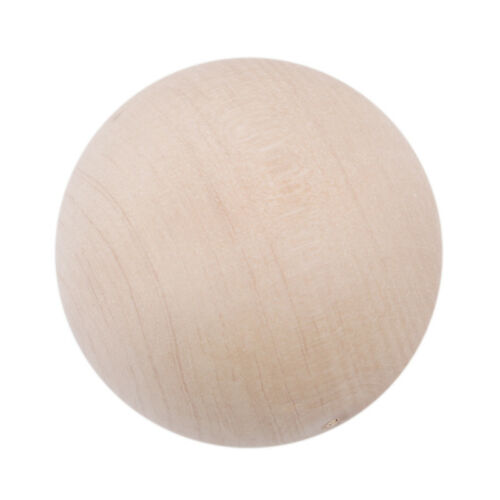 Solid Wooden Ball Handmade Wood Ball Painted Ball Shape Creative Prevalent UK