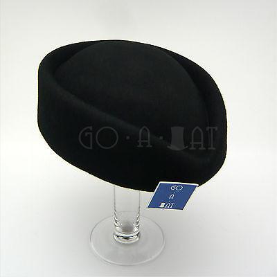 Vintage Wool Stewardess Flight Attendants Pillbox Hat Fascinators MULTI COLORS