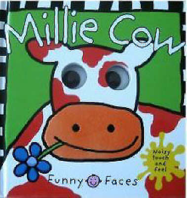 1 of 1 - New, Funny Faces: Millie Cow (Funny Faces): Millie Moo, Roger Priddy, Book
