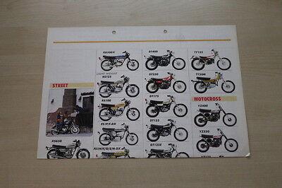 Yamaha 165480 Modellprogramm Prospekt 197?