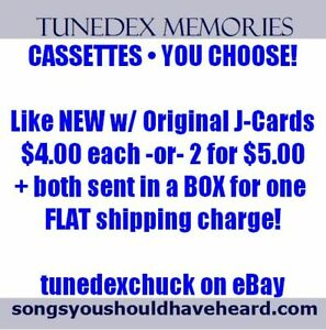 Your-Choice-Like-NEW-TAPES-4-00-each-or-2-for-5-00-w-FLAT-shipping-on-both