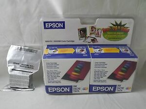 3-New-Epson-S020191-color-ink-jet-Cartridges-Outdated-but-new