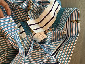 Robert-Graham-Striped-Stretch-Limited-Comfort-Modern-Fit-Mens-Shirt-Shirt-XL