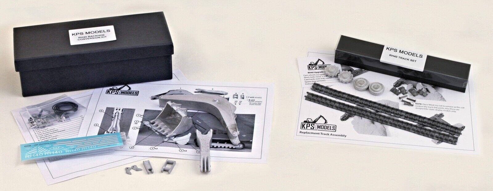 Sito ufficiale Completamente in mettuttio O&K RH 40 Kit Kit Kit di conversione per SCAVATORE completamente in mettuttio con binari  disponibile