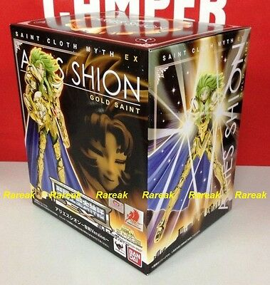 Bandai 2014 Saint Seiya Cloth Myth EX Gold Aries Holly War Shion Action Figure