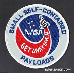 NASA SPACE Program Shuttle in Pre launch Patch   approx 3 inch