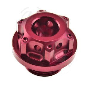 Black GP Engine Oil Cap CNC Aluminum Filler Lid For Suzuki GSXR 600 750 Seal