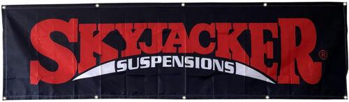 Skyjacker Suspensions Flag Car Racing 2x8ft banner