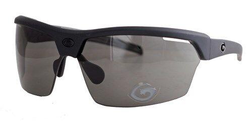 Gargoyles Sunglasses Cardinal Black Rubberized Smoke new Hard Case