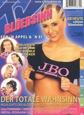 """J.B.O. """"TV-BLÖDSINN"""" DVD NEUWARE !!!!!!!!!!!!!!!!!!!!!!"""