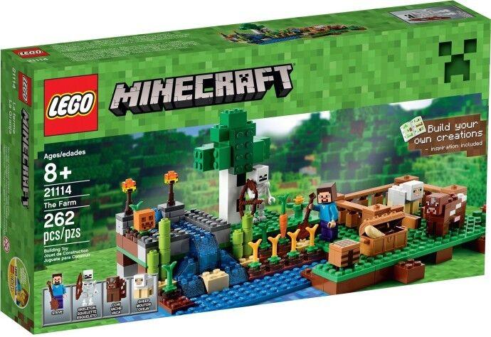 LEGO Minecraft - 21114 The Farm / Die Farm mit Steve - Neu & OVP