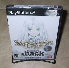 .hack INFECTION Part 1 NEW factory sealed Black label PS2 Sony PlayStation 2