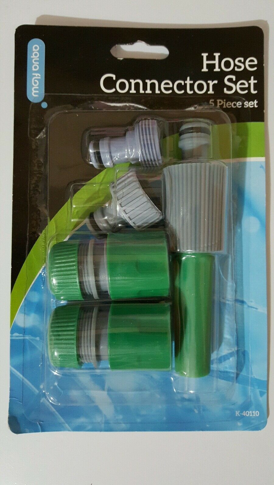 5 x Hose Tap Set Water CONNECTOR PIPE CONNECTION FITTING ADAPTOR HOME Garden