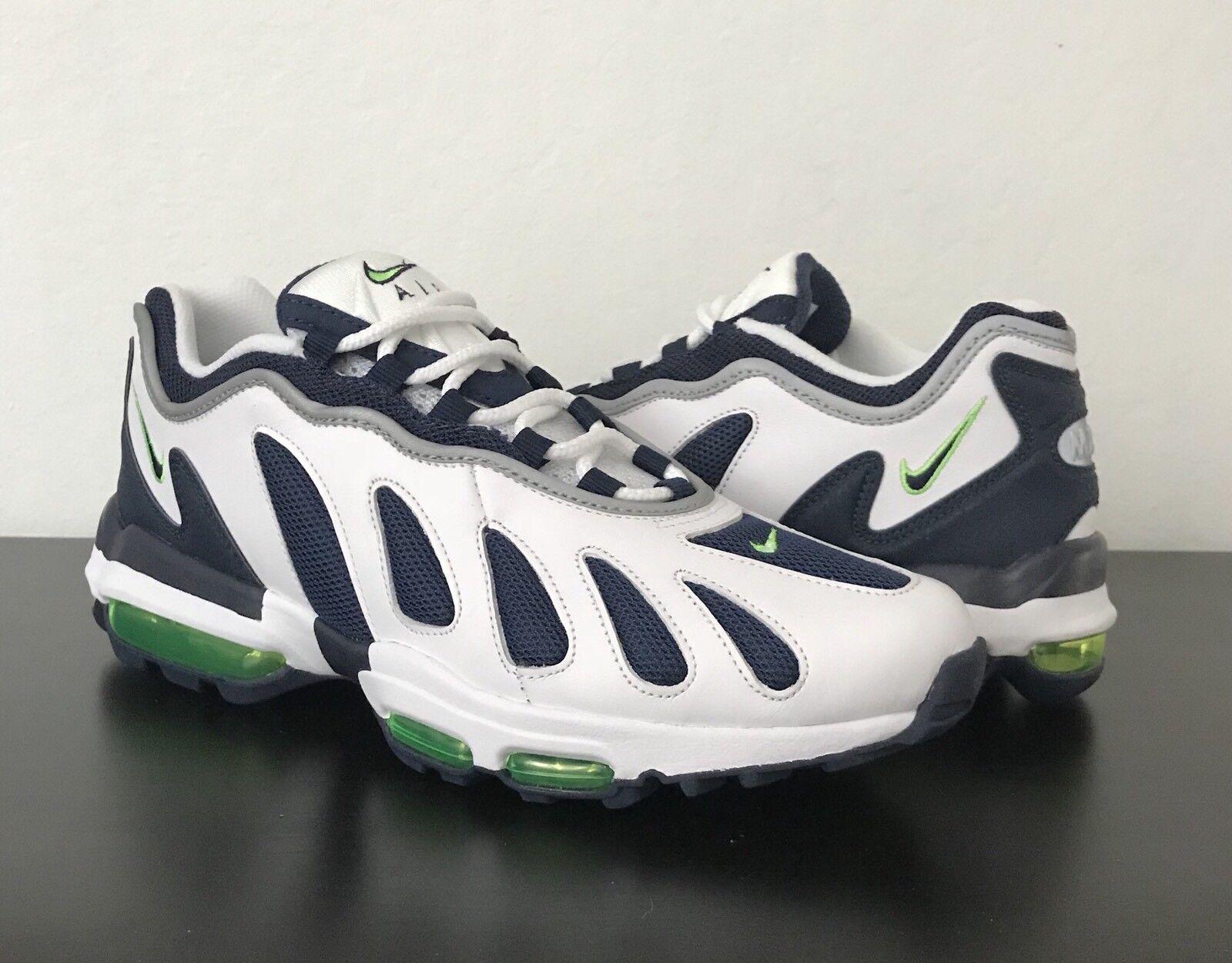 Nike Air Max 96 XX Obsidian-Scream Green 870165 100 Size 9