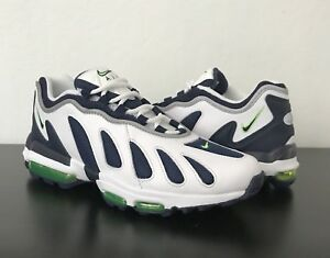 save off e34bd 25283 Image is loading Nike-Air-Max-96-XX-Obsidian-Scream-Green-
