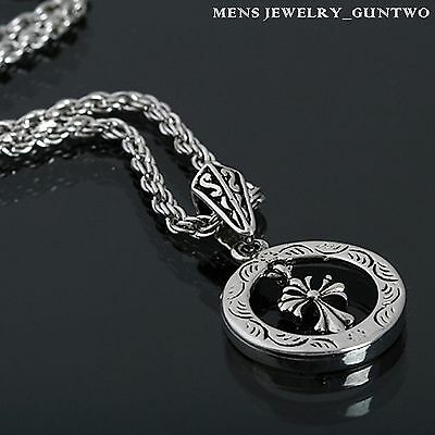 Guntwo Korean Mens Fashion Necklaces - Biker, Hip Hop Cross Necklace N1135 US