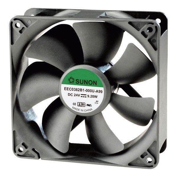 SUNON® EEC0381B1-000U-A99 DR Brushless Axial Fan 12V DC 120 x 120 x 38mm