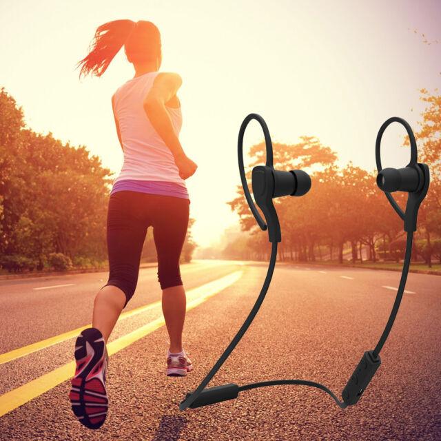 Sport Bluetooth Headphone Stereo Wireless Earphone Headset For iPhone Samsung LG