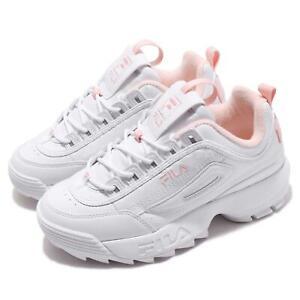 Details about Fila Disruptor 2 White Pink Men Women Unisex Chunky Platform Lifestyle Shoes