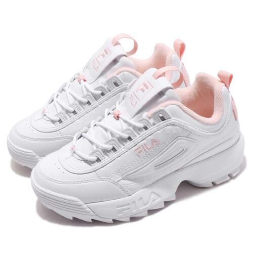 Fila Disruptor 2 White Pink Men Women