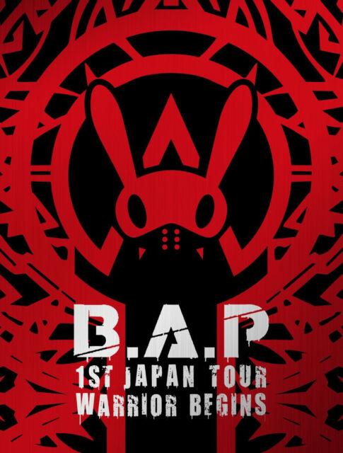 B.A.P 1ST JAPAN TOUR  [WARRIOR Begins] 2DVD + Photobook First Press Limited