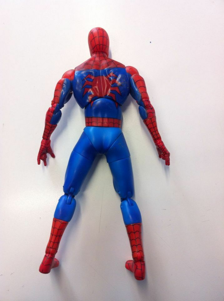 men RAGNO SPIDER-MAN ACTION FIGURE DOLL 31 cm MARVEL MARVEL MARVEL HEROES AVENGERS 5cc021