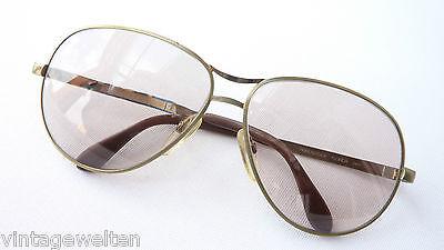 70s Vintage Occhiali Da Sole Tonalità Medie Metallo Di Rodenstock Florida Misura L-mostra Il Titolo Originale