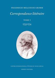 Grimm-Correspondance-litteraire-tome-1-1753-1754