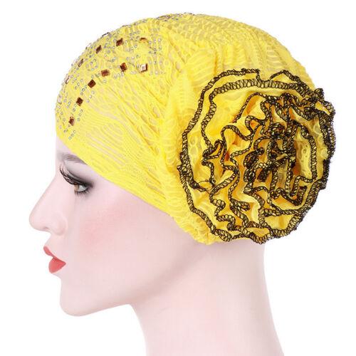 Women Muslim Hair Loss Head Scarf Hat Chemo Hijab Caps Turban Head Wrap Cover