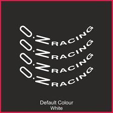 "Oz Racing Sticker Rim 18 /"" Wheels Decal Sticker Aufkleber Vinyl VINYL 3m 50s"