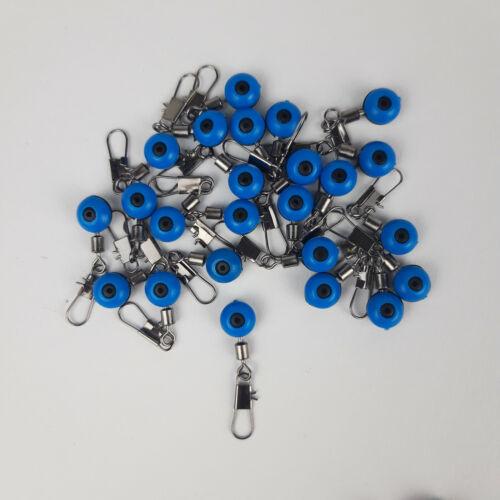 Perlen Laufwirbel Spezialwirbel Schwimmer ab 0,10€//St 25//50//75 St rot blau gelb