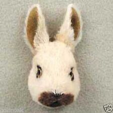 BROWN RABBIT-Fur Refrigerator Magnets (Handcrafted & Hand painted..Collectable