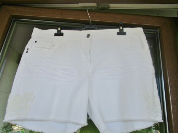 100% Vrai Damen Shorts. Gina Denim. Boyfriend. Gr. 46. Neu