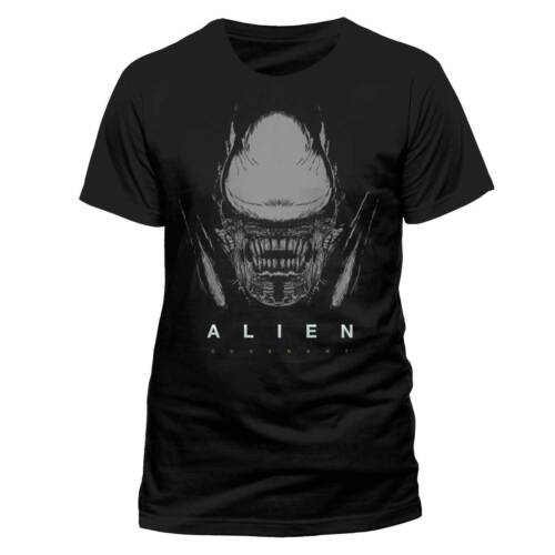 Alien Covenant Xenomorph Official Black Unisex T-Shirt Fassbender Waterston