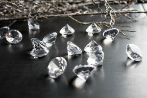 Dekosteine-klar-Diamanten-20mm-50-Stueck-Tischdeko-Hochzeit-Dekodiamanten