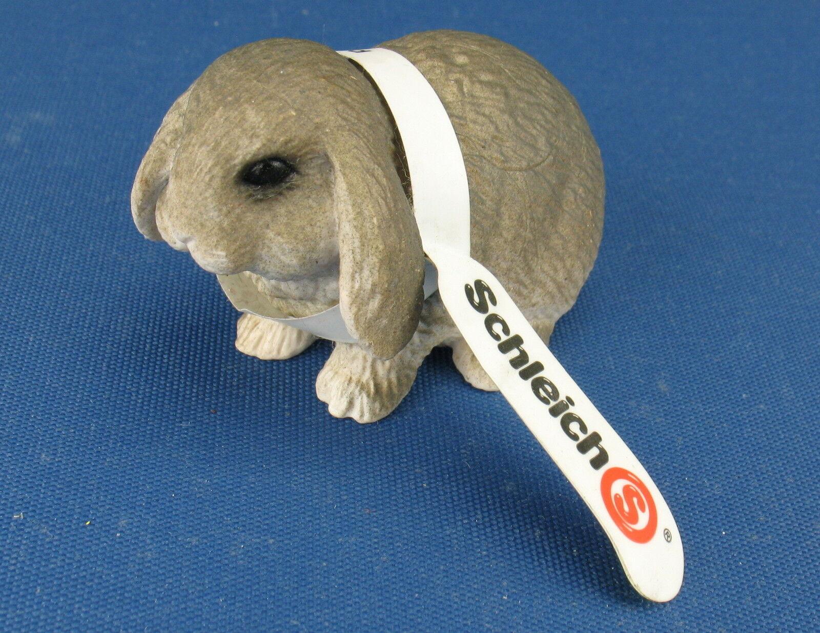 SCHLEICH 14401 - - - Zwergkaninchen - mit Fähnchen - Pygmy Rabbit - Haustiere -Pets abe881